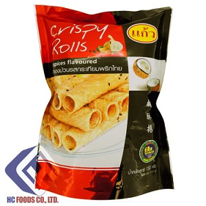Crispy Rolls Spices Flavored
