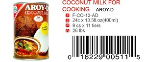 COCONUT MILK FOR COOKING