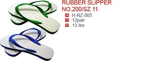 RUBBER SLIPPER NO.200/SZ 11