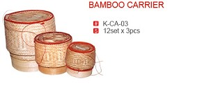 BAMBOO CARRIER