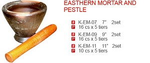 EASTHERN MORTAR AND PESTLE