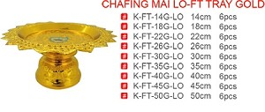 CHAFING MAI LO-FT TRAY GOLD
