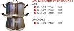 LAO STEAMER WITH BUCKET