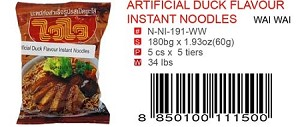 ARTIFICIAL DUCK FLAVOR INSTANT NOODLES