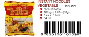 INSTANT NOODLES VEGETABLE