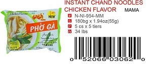 INSTANT CHAND NOODLES CHICKEN FLAVOR