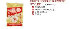 DRIED NOODLE BURMESE STYLEF