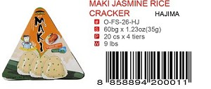 MAKI JASMINE RICE CRACKER