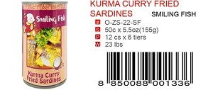 KURMA CURRY FRIED SARDINES