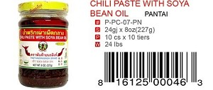 CHILI PASTE WITH SOYA BEAN OIL
