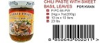 CHILI PASTE WITH SWEET BASIL LEAVES