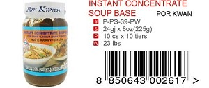 INSTANT CONCENTRATE SOUP BASE