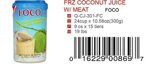 FRZ COCONUT JUICE W/MEAT
