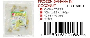 FROZEN BANANA IN COCONUT