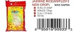 JASMINE RICE(MSP)(2013 NEW CROP)