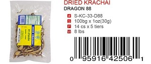 DRIED KRACHAI