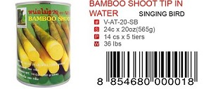 BAMBOO SHOOT TIP IN WATER