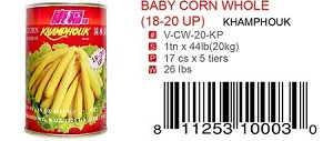 BABY CORN WHOLE (18-20 UP)