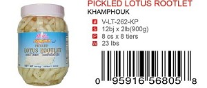 PICKLED LOTUS ROOTLET