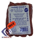 CALIFORNIA SAUSAGE CHINESE BRAND SPICY PORK AND CHICKEN SAUSAGES (HOT)